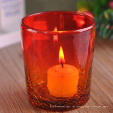 Ice Crack Glas Kerzenglas