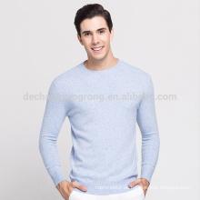 Großhandel instock Wolle plain Pullover Mann Wolle Pullover Design