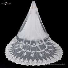 TA031 Exquisite Applique 5 Meters Bridal Veil Trim