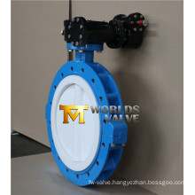 Two PCS Body Lug Type Butterfly Valve with Full PTFE Lining (D71X-10/16)