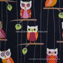 100% Baumwolle Flanell Stoff für Pyjamas mit Tier bedruckt (C20X10 / 40X42)