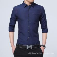Men′s Shirt Long Sleeve Slim Fit Shirt Casual Spring High Quality Men′s Shirts