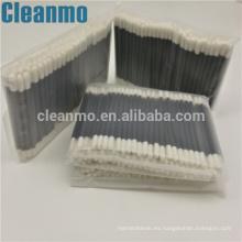 Esponja de limpieza de punta de espuma con cabeza pequeña y doble Esponja de esponja de limpieza con espuma de sala blanca