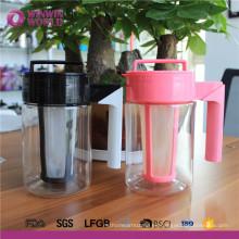 Jarra fría al por mayor de la jarra con la tapa LIBRE de Tritan BPA para el jugo, té helado, limonada
