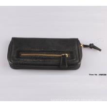 2015 New Women Fashion Leather Zipper Wallet