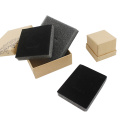 Cheaper Kraft Packaging Jewelry Box with Sponge