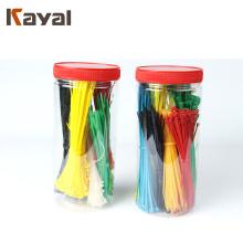 La abrazadera de cable de lazo de gancho KAYAL SS puede reutilizarse