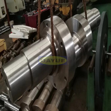 Production of crankshafts for racing and marine engines