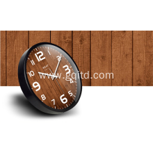 Decorative nice design metal plastic wall clock