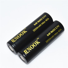 Enook 3200mAh MAX40A 18650 rechargeable battery