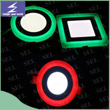 Two Color 85-265V LED Ceiling Panel Downlight