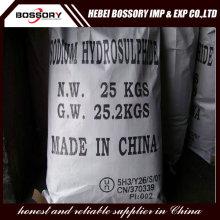 Sodium Hydrosulfide 70% min for leather treatment