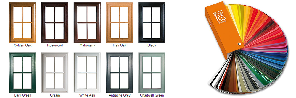 color door window