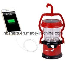 Lanterna lanterna solar portátil lanterna, USB