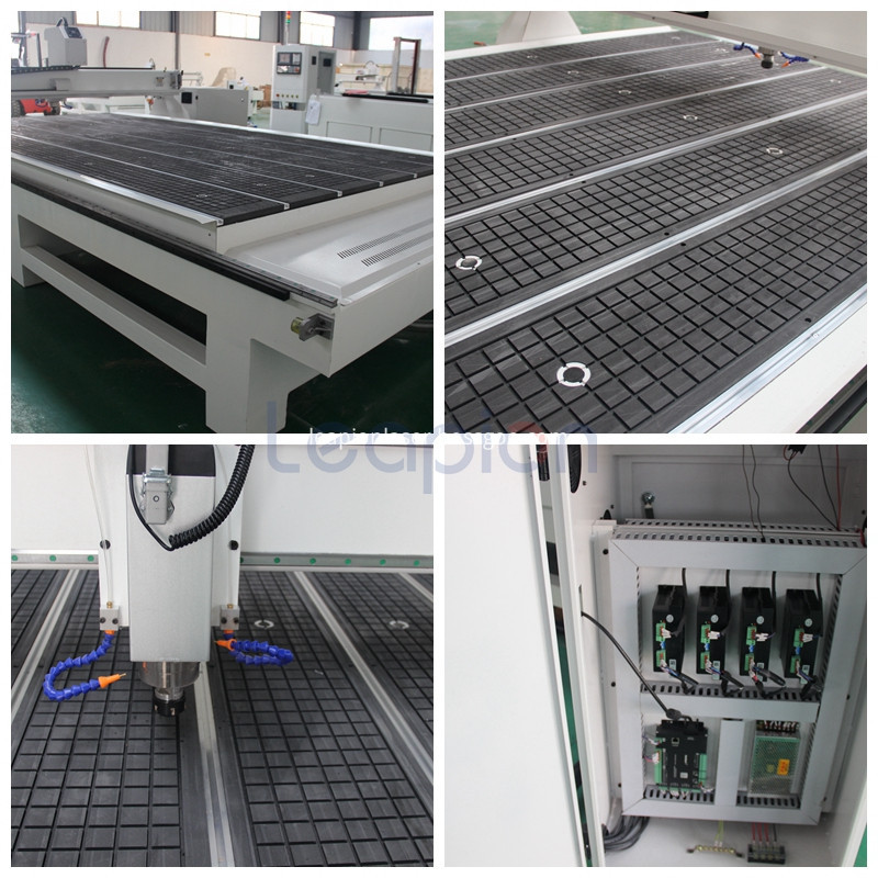 machine head,working table and control system