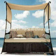 Rattan Garden Patio Wicker Sunbed
