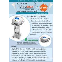 La machine portative dans le corps formant et amincissant l'instrument qui peut employer à la maison et à la clinique - cavitation