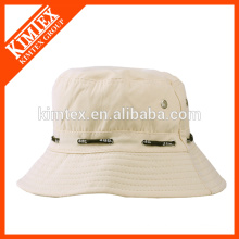 Wholesale plain polyester bucket hat
