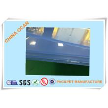 Folha de PVC transparente para vestuário Modle