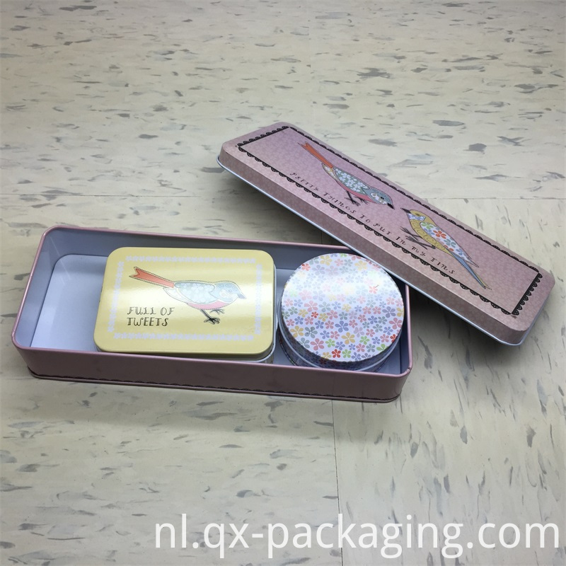Small Metal Tins