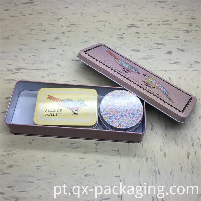 Custom tin box