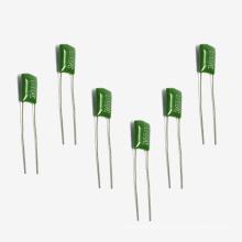 Topmay Теплостойкий Зеленый Полиэстер Пленочный Конденсатор Cl11 Tmcf01