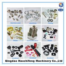 Изготовленный на заказ подвергать механической обработке точности CNC поворачивая Алюминиевый Шкив автозапчастей