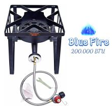Outdoor Camping Square Burner Stove
