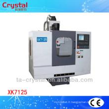 Machine de fraisage cnc universelle prix 5axis XK7125