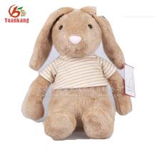 Juguete relleno al por mayor del conejo de felpa del oído largo de la marca del OEM