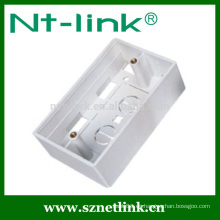 Placa frontal RJ45 Caja inferior