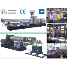 Price of plastic extrusion machine for color MB/plastic alloy/filling/pp/pe/pet/pbt/abs