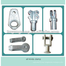 suspension insulator end clamp cable insulation strain clamp electrical insulator accessories