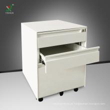 Armário móvel do suporte da gaveta do arquivamento 3 da mobília de aço do escritório