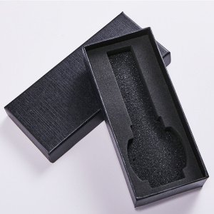 Square Black Paper Printing Watch Gift Box