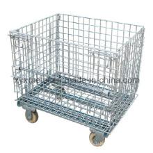 Metall Garage Logistik Rollwerkzeuge Stahl Speicher Draht Mesh Cage