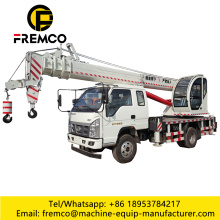 12t T-King Chassis Mobile Crane Truck for Sale