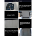 Customized Heavy Duty Metal Dog Cage Box