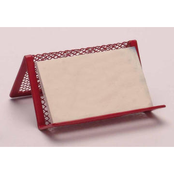 Wire Metal Mesh Office Organizer Name Card Holder
