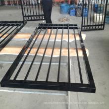 2018 New Design Günstige Aluminium Metall Palisaden Ornamental Fence