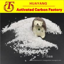 Alumine blanche fusionnée 325 mesh à base d'alumine calciend