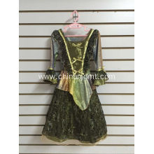 Bottle Green Party Dress