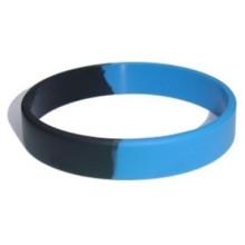 Bracelet de silicone de logo de segment de mode pour la promotion