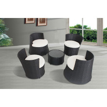 Deluxe Outdoor Patio PE Rattan Wicker 5PCS Set