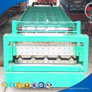 Automatización de carreteras barandilla de acero placa de acero que forma la máquina