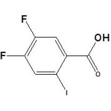 4, 5-difluoro-2-iodobenzóico CAS No. 130137-05-2