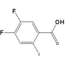 4, 5-дифтор-2-иодбензойная кислота CAS № 130137-05-2