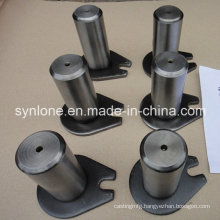 Customized Steel Welding Parts, Shaft with Ear