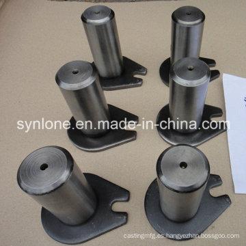 Piezas de soldadura de acero personalizadas, eje con oreja