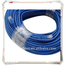 Blue Networking Cables Connects a Computer to a DSL/Cable Modem, Hub, Switch, and Router...